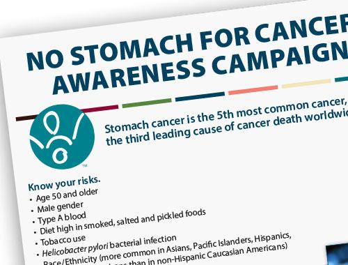 Stomach Cancer Awareness Flyer1
